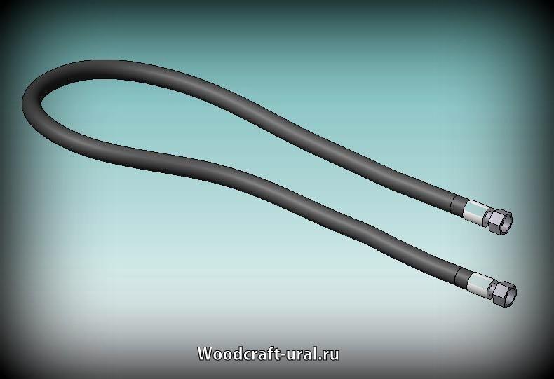 Рукава высокого давления для гидроманипулятора Атлант-90 (ЛВ 185-10, ЛВ 185-14). РВД с фитингами DK.