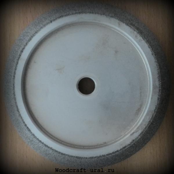 Круг эльборовый на гальванической связке: WM 127*12,7 профиль 10/30
