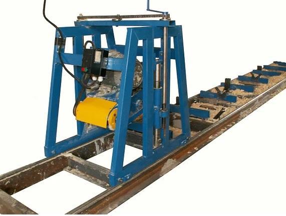 Станок для изготовления профилированного бруса СПБ–200