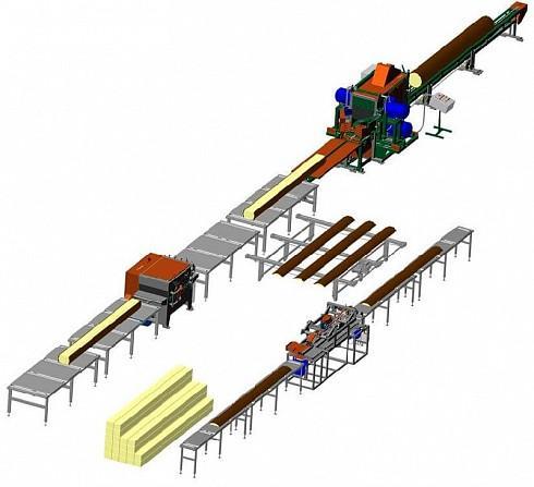 Лесопильно-деревообрабатывающий комплекс