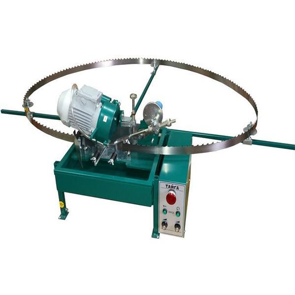 Автомат заточной с боразоновым кругом для заточки зубьев ленточных пил